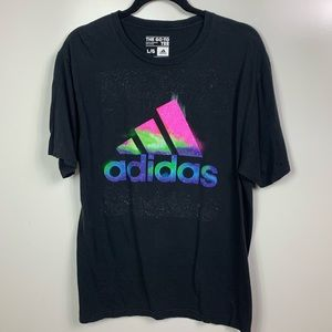 Adidas galaxy on the go T-shirt men's large